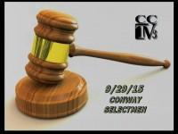 Conway Selectmen 9-29-15 frame